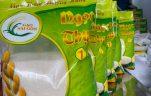 gạo sạch đóng túi