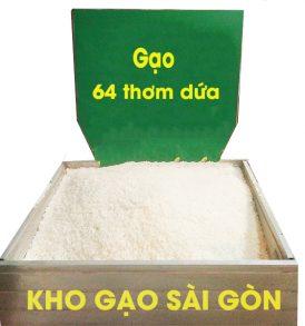Gạo 64 thơm dứa